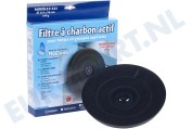 307666, C00307666 Filter Koolstoffilter 233x28mm