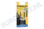 S742-016 Stanley Hangslot Solid Brass Chrome Plated 40mm