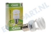 576388 Calex T2 twister spaarlamp 240V 8W E27, 2700K