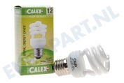 576392 Calex T2 twister spaarlamp 240V 12W E27, 2700K