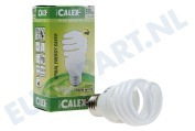756396 Calex T2 twister spaarlamp 240V 15W E27, 2700K