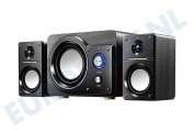 Speakerset High power Stereo 2.1