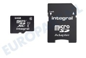Memory card Class 10 (incl.SD adapter)