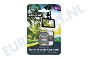 INMSDH32G10-DSCAM 32GB Dash+Security Camera MicroSDHC Card Class 10