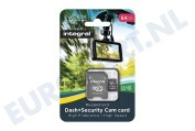 INMSDX64G10-DSCAM 64GB Dash+Security Camera MicroSDHC Card Class 10