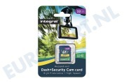 INSDH32G10-DSCAM 32GB Dash+Security Camera SDHC Card Class 10