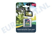 INSDX64G10-DSCAM 64GB Dash+Security Camera SDHC Card Class 10