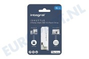 INFD16GBISHUTTLE iShuttle Lightning & USB 3.0 Flash Drive 16GB