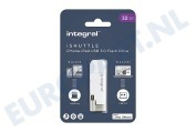 INFD32GBISHUTTLE iShuttle Lightning & USB 3.0 Flash Drive 32GB