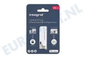INFD64GBISHUTTLE iShuttle Lightning & USB 3.0 Flash Drive 64GB