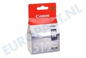 Canon 2970B001 PG 510 Canon printer Inktcartridge PG 510 Black MP240, MP260, MP480