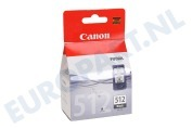 Canon 1426741 Canon printer Inktcartridge PG 512 Black MP240, MP260, MP480