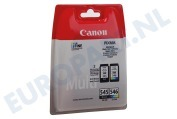 Canon 2005337 Canon printer Inktcartridge PG 545 Black + CL 546 Color Pixma MG2450, MG2550