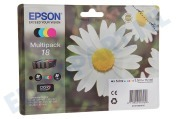 Epson C13T18064010 Epson printer Inktcartridge T1806 Multipack Expression Home XP30
