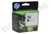 HP 56 Inktcartridge No. 56 Black