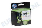 HP Hewlett-Packard 1593427 HP 301 Xl Color HP printer Inktcartridge No. 301 XL Color Deskjet 1050,2050