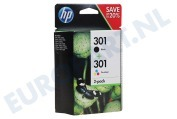 HP Hewlett-Packard 2509173 HP printer HP 301 Combi Black + Color N9J72AE Deskjet 1050,2050,3050A