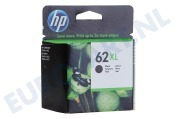 HP 62 XL Black Inktcartridge No. 62 XL Black