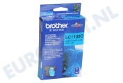 Brother LC1100C Brother printer Inktcartridge LC 1100 Cyan MFC490CW,DCP385C