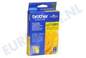 Brother LC1100Y Brother printer Inktcartridge LC 1100 Yellow MFC490CW,DCP385C