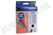 Brother LC223BK LC-223BK Brother printer Inktcartridge LC-223 Black DCP-J4120DW, MFC-J4420DW, MFC-J4620DW