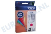 Brother LC223M LC-223M Brother printer Inktcartridge LC-223 Magenta DCP-J4120DW, MFC-J4420DW, MFC-J4620DW