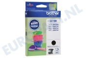 Brother 2449895 LC-221BK Brother printer Inktcartridge LC221 Black DCP-J562DW, MFC-J480DW, MFC-J680DW, MFC-J880DW