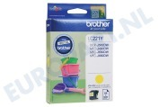 Brother 2449898 LC-221Y Brother printer Inktcartridge LC221 Yellow DCP-J562DW, MFC-J480DW, MFC-J680DW, MFC-J880DW