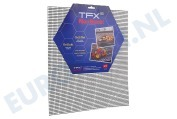 Universeel 311599 Barbecue Grill Mat TFX Non Stick Grill Mat Voor Oven en Barbecue, 36x42cm