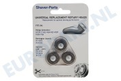 Philips 4313042456305 Scheerapparaat Shaver-Parts HP1915, HQ3, HQ4, HQ5, HQ56, HQ6 HP1915, HQ3, HQ4, HQ5, HQ56, HQ6