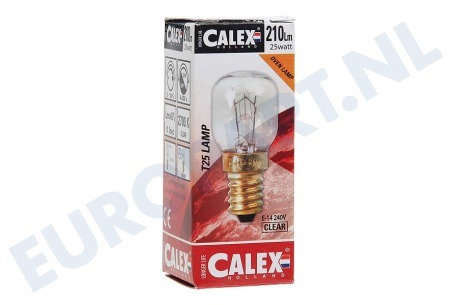 Electrolux Oven, Oven-Magnetron 432112 432112 Calex Gloeilamp 240V 25W E14 helder T25 voor oven