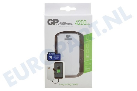 GP  GP541A GP GP541A powerbank 4200 mAh Wit