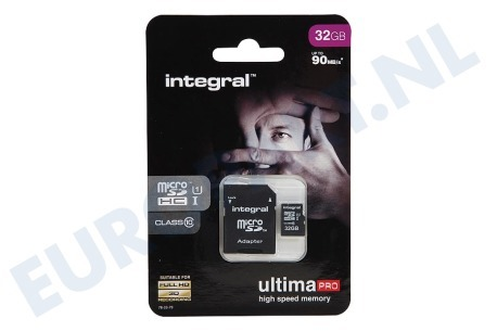 Integral  INMSDH32G10-90U1 Memory card Class 10 (incl.SD adapter)