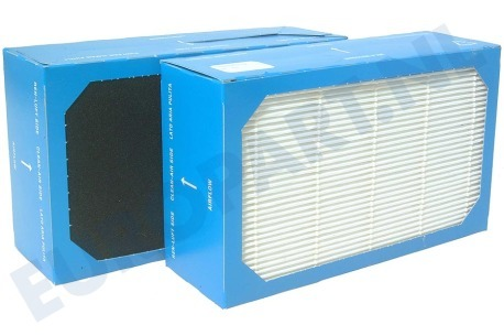 Philips Luchtbehandeling 482248010232 Filter Hepa & Carbon HR 4990