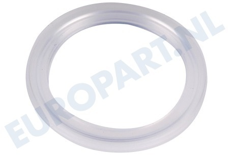 Philips Koffiezetapparaat 422224706810 Afdichtingsrubber Rond transparant