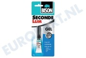 Universeel 1490269  Lijm BISON -SUPER- secondenlijm gel