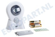 GP  810NOMAD 053743-LAME1 GP Lighting Nomad LED lamp met bewegingsmelder Inclusief 3x AA batterijen
