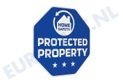 Iiquu 510ILSAA006  Sticker Safety Stickers Afmeting 90x35mm