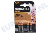 Duracell  15034998 AAA Duracell AAA Plus Power Alkaline Batterij AAA potlood