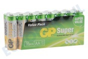 GP  03015AS16 LR6 Super Alkaline AA LR06 -incl.verw.bijdrage-