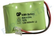 GP 220279C1  Accupack 3,6 Volt -600 mAh- NiMh High Capacity T 157  T279