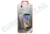 ScreenArmor SA10063  Screen Protector Safety Glass Edge 2 Edge Samsung Galaxy S6 Black