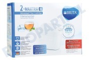 Brita 1023118  Waterfilter Filterpatroon 2-pack Brita Maxtra+