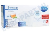 Brita 1023128  Waterfilter Filterpatroon 6-pack Brita Maxtra+