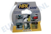 HPX  CW5005 6200 Pantsertape Repair Wit 48mm x 5m Duct Tape, 48mm x 5 meter