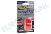 SO2503 Stretch & Fuse Rood 25mm x 3m