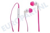 Universeel SECL712TP SE-CL712T-P In Ear Hoofdtelefoon Hoofdtelefoon Roze SE-CL712T-P, Roze, 1.2m snoer