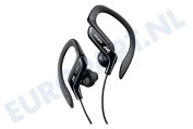 JVC  HAEB75BE HA-EB75B-E Adjustable Clip Sport Headphones Sport, fitness