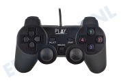 Ewent  PL3330 Wired USB Gamepad geschikt voor o.a. PC, Laptop