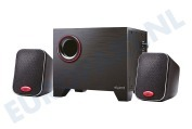EW3505 Stereo Speakers 2.1 met Subwoofer
